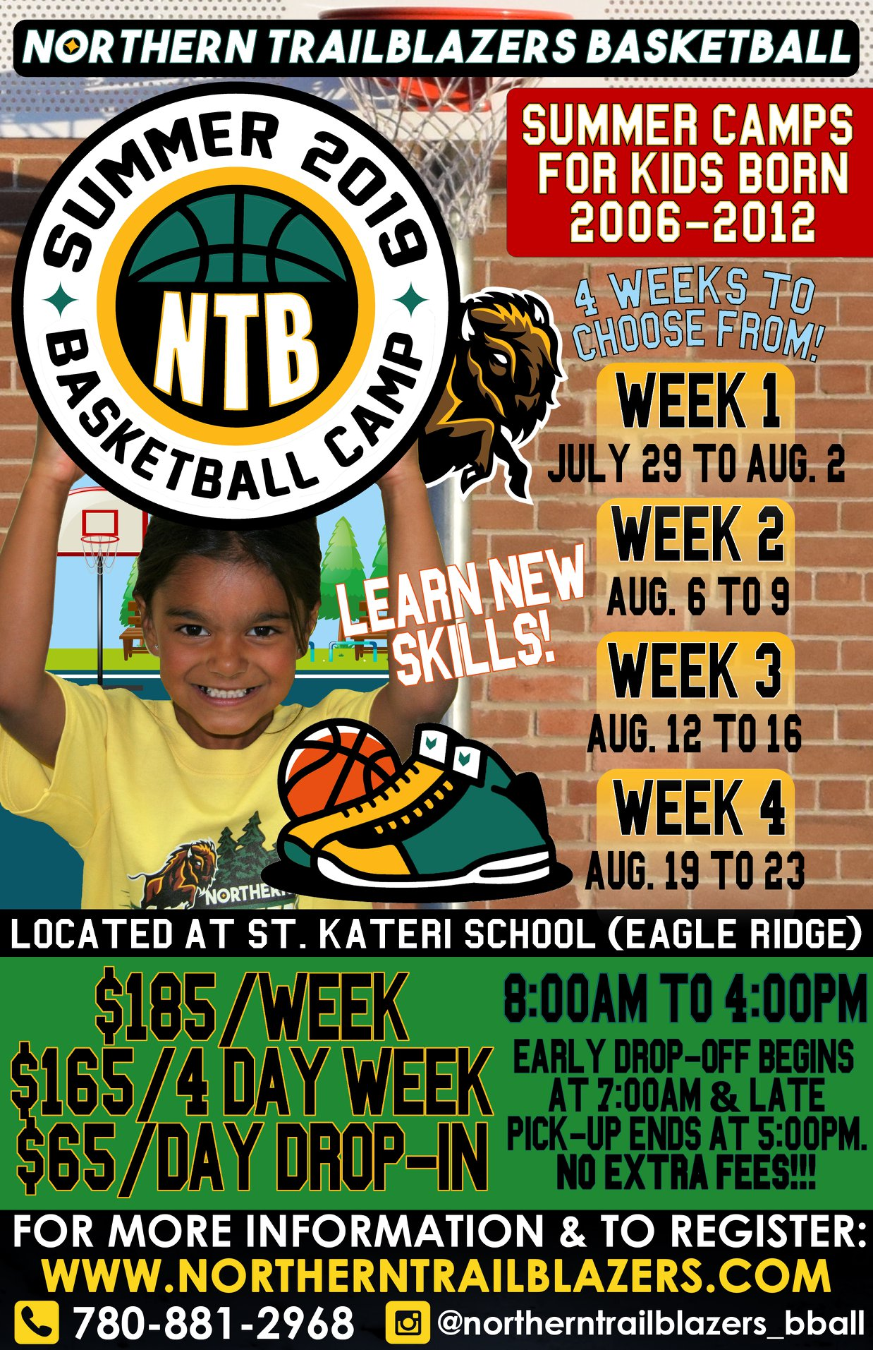 2019 Summer Day Camps - Northern Trailblazers Basketball